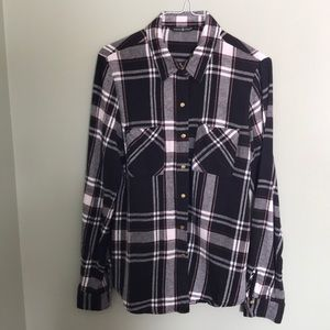 Maison Coupe Plaid shirt